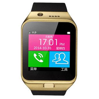 Cyber Bluetooth Smart Wrist Watch Phone Mate for Android (Black)