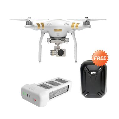 DJI Phantom 3 Proffesional Kit Drone Camera with Tas and Battery