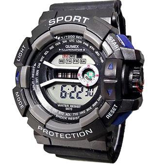 Harga Digital Quimex Jam Tangan Sport - Strap Karet - Hitam - QU810R ... 97560aacdb