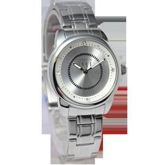 Elle - Jam Tangan Wanita - Silver - Stainless Steel - ES20038B01X