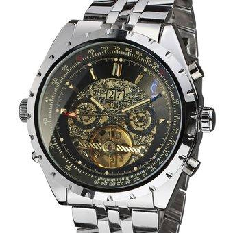 Forsining Men's Automatic Tourbillon Wrist Watch JAG212M4S2 (Intl)