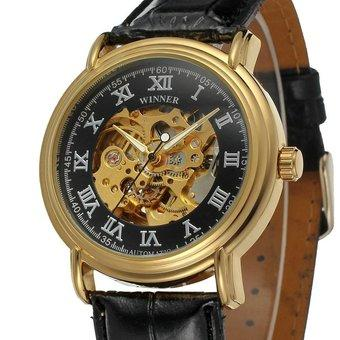Forsining Vogue Skeleton Dress Men Watch with Automatic Self-wind Movment (Intl)