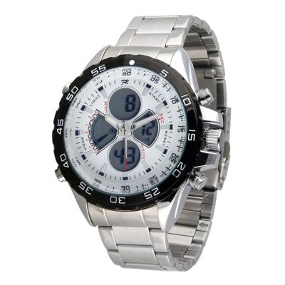 Fortuner Combo Steel WH 1103 SS Jam tangan Pria Stainless steel - Silver