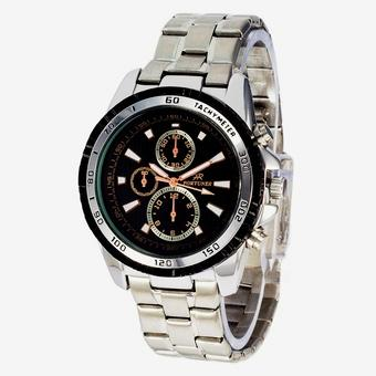Fortuner - Jam Tangan Pria – Stainless Steel – FR201lO Silver
