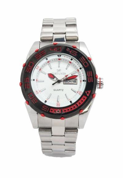 Fortuner Watch - Mens - FR K1010 - Putih Merah