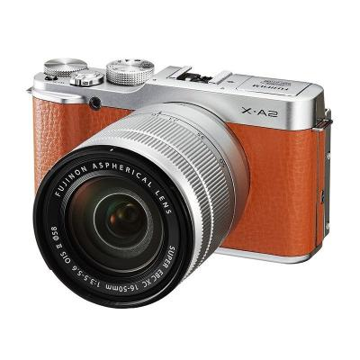 Fuji X A2 XC + 16-50 Brown Kamera Mirrorless