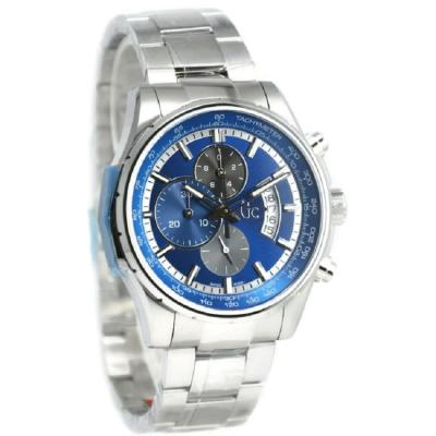 GC Guess Collection Jam Tangan Pria Silver Stainless Steel X81010G7S