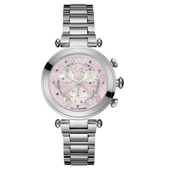 GC Guess Collection Jam Tangan Wanita Silver Pink Stainless Steel Y05001M3