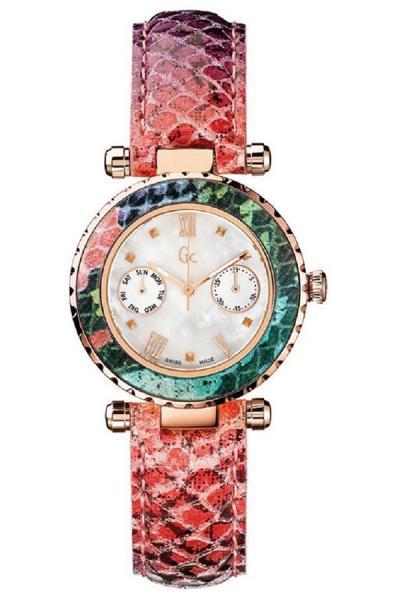 GC Guess Collection X35014L1S Jam Tangan Wanita - Merah/Rosegold