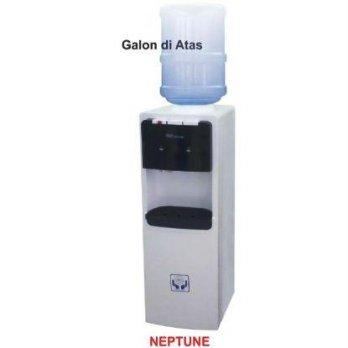 GEA NEPTUNE WATER DISPENSER / DISPENSER GALON ATAS AIR, PANAS, DINGIN DAN NORMAL - PUTIH