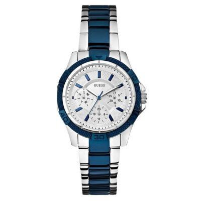 Harga Guess W0235L6 - Jam Tangan Wanita - Keramik - Biru-Putih ... 934993345e