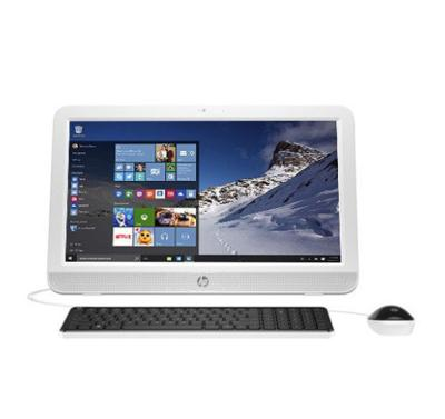 "HP 20-e029D AIO PC - 2 GB - Intel Celeron N3050 - 20"" - Putih"