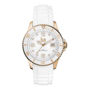 Icewatch Jam Tangan Unisex - White Rosegold - Silicone - Style