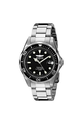 Invicta 8932 Pro Diver Stainless Steel Watch Silver & Black - Intl
