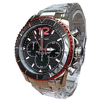 Jacque Martin JM511 Chronograph Jam Tangan Pria Stainless Steel Merah 146bbb9c5a