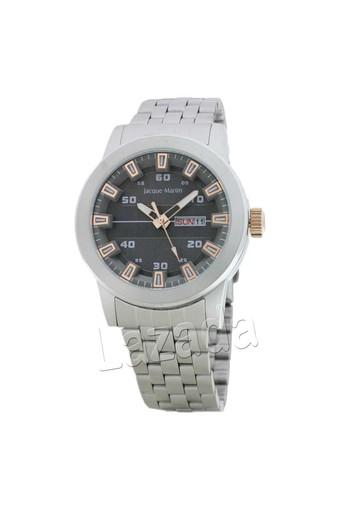 Jacque Martin - Jam Tangan Pria - Hitam Rosegold - Strap Stainless Steel -  3265ME db192a4f4e