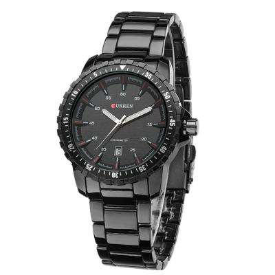 Kamvio Curren 8099 Men's Quartz - Hitam