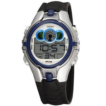 Ohsen - Jam tangan Anak - Hitam - Strap Rubber - Owen Kids Digital Sport  Watch 7d5f305dde