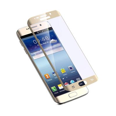 Samsung Original Full Curved Tempered Glass for Samsung S7 Edge - Gold