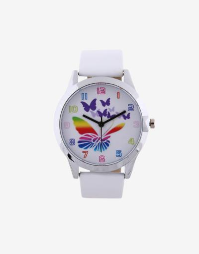 Super Watch Colorful Birdie Wristwatch - Putih