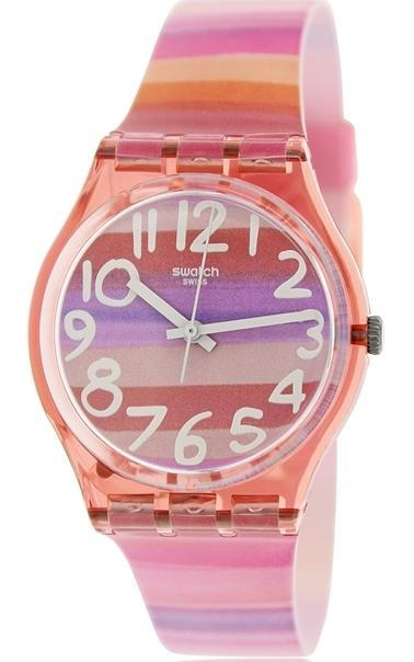 Harga Swatch GP140 jam tangan remaja karet 34mm-pink - PriceNia.com 3fe4957e60