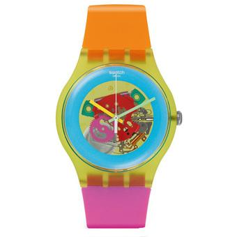 Swatch - Jam Tangan Wanita - Biru-Pelangi - Rubber Pelangi - SUOJ101 Colour  Palette c403942e32