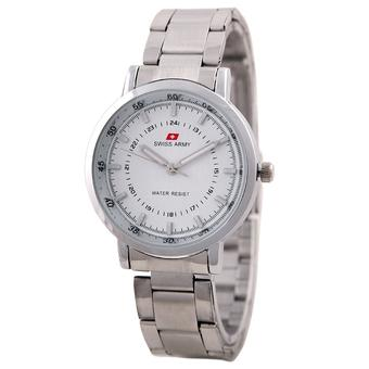 Swiss Army Ladies Elegant - Silver - Stainless - SA 5108 SS SIL