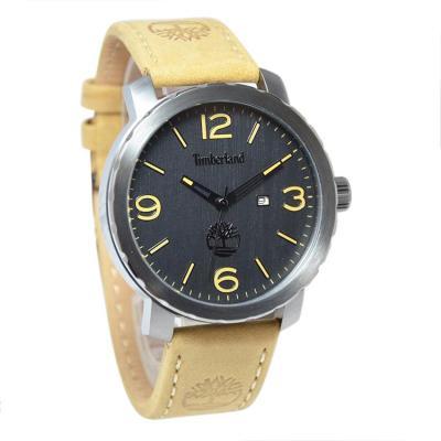 Timberland Jam Tangan Pria Coklat Leather Strap TBL14399XSU-02