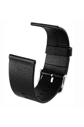 Watch Band Luxury fashion Genuine Leather Watch Replacement Band Wrist Strap For Apple Watch 38mm Black