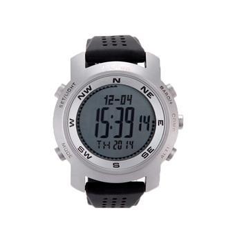 louiwill Spovan Digital Compass Altimeter Outdoor Wrist Watches(Silver) ( Intl)